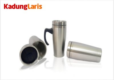 Car Mug Stainless 3 Garis