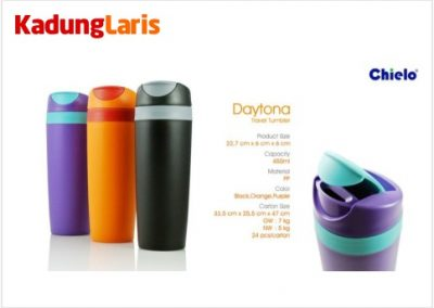 Daytona Travel Tumbler