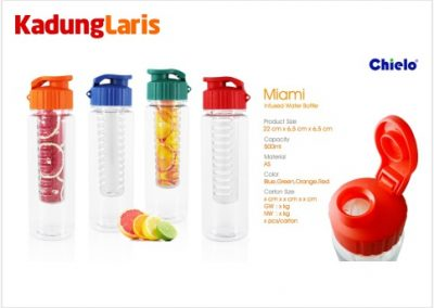 Miami Infus Water Bottle