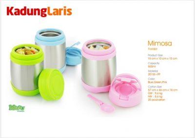 Mimosa Food Jar