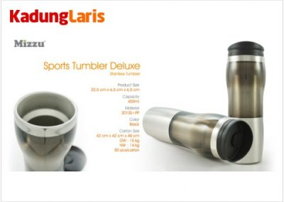 Sport Tumbler Deluxe Stainless Bottle