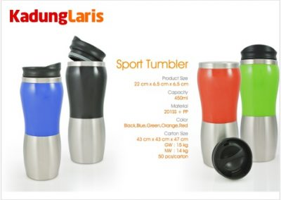 Sport Tumbler Stainless Bottle