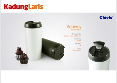 Subway Travel Tumbler