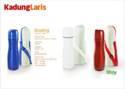 Tumbler Bowling Vacuum Flask