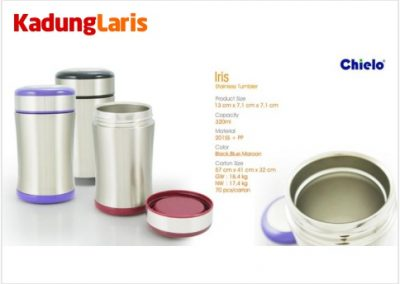Tumbler Iris Stainless Bottle