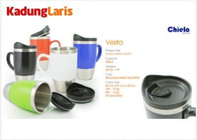 Vesta Car Mug Tumbler