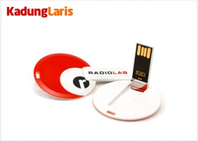 Flashdisk Kartu Bulat CD14