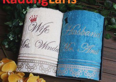 Handuk Souvenir Pernikahan