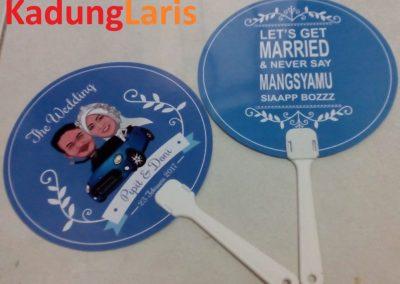Kipas Souvenir Pernikahan