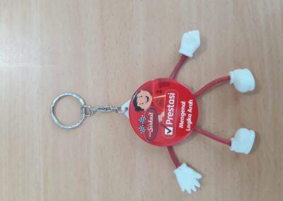 Souvenir Gantungan Kunci Custom